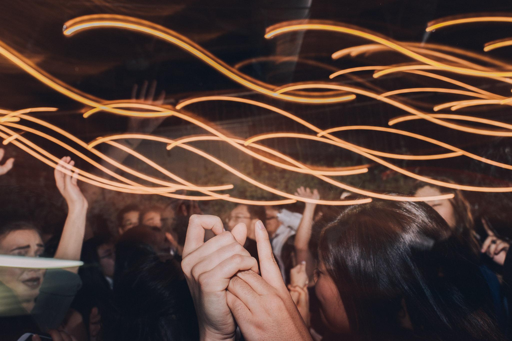 wedding dj dancing love hands